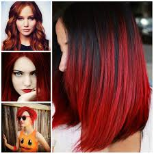 bright red hair ideas for 2017 new hair color ideas u0026 trends for