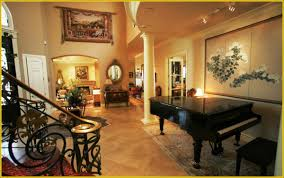 home interior mirror interior elegant traditional entrance home come with black piano
