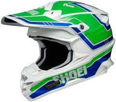 clearance motocross helmets shoei x twelve shoei vfx w damon motocross helmet white green