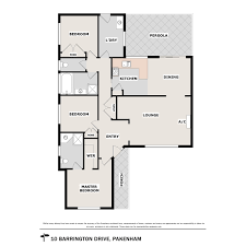 Barrington Floor Plan by Barrington Drive Pakenham