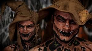 scarecrow halloween makeup tutorial youtube
