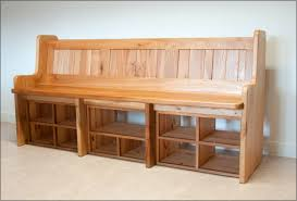 Plans For A Wooden Bench With Storage by Plans For A Hall Tree Storage Bench Outdoor Hall Tree Storage