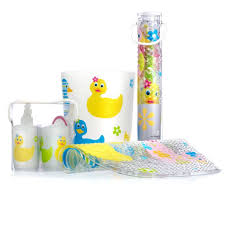 Cute Bathroom Sets by Cute Accessories For Kids Bathroom With Ducky Theme Kids