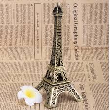 Eiffel Tower Garden Decor New 10 18 25cm Vintage Paris Eiffel Tower Statue Model Figurine
