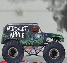 grave digger monster truck schedule midget apple s monster truck annoying orange wiki fandom powered