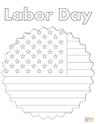 labor day coloring page free printable coloring pages
