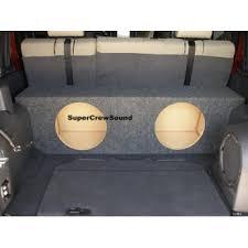 jeep wrangler speaker box jeep wrangler unlimited 4 dr 07 up subwoofer enclosure