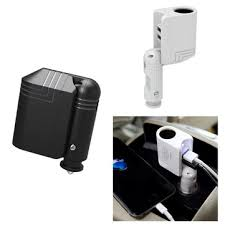 Car Charger With Usb Ports Rock 2 1a 2 In 1 Foldable Dual Usb Ports Car Charger With Car
