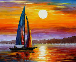 Painting Boat Interior Decor Artwork Ideas With Painting On Canvas For Wall Decorating