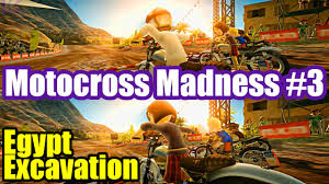 motocross madness 4 motocross madness splitscreen 3 egypt excavation youtube