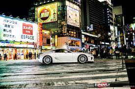 lexus lfa v10 sound the streets u2013 lexus lfa on in tokyo superfly autos