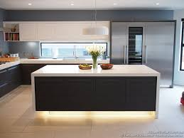 Interior Design Modern Kitchen Kitchen Kitchen Cabinets Modern Two Tone Black White Island