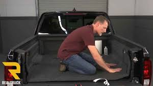 Bed Rug Liner How To Install Bedrug Molded Carpet Truck Bed Liners On A 2017
