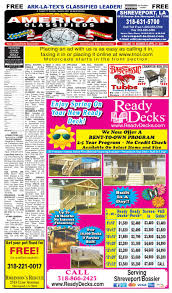american classifieds shreveport la april 21st 2016 by