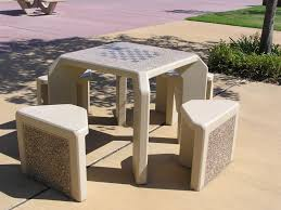 outdoor chess table designs for game changers trends4us com