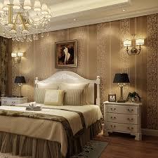 Damask Bedroom Decorating Ideas Damask Wallpaper Ideas