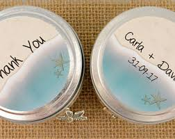 beachy wedding favors wedding favor etsy