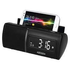 Bathroom Radio Clock Clock Radio Telephone Combination Target