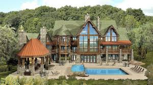 Luxury Plans Best Luxury Log Home Plans M89yas 75