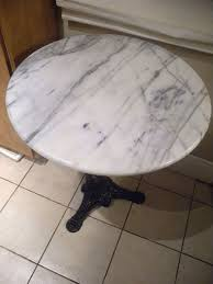 Marble Bistro Table Madame Butterfly Montreal Vintage Furniture Finds Montreal Digs