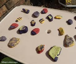 Rocks For The Garden Get Creative With Painted Rocks In The Garden Sprouts