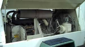 p 185 w jd ingersoll rand air compressor with john deer diesel