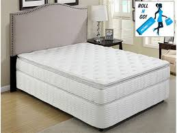 primo cosmos 9 inch queen pillow top mattress pocket coil innerspring