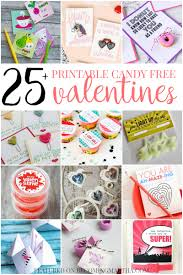 printable candy free valentines to share with the class