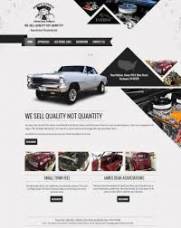 car showroom website template website templates pinterest
