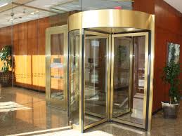 Overhead Security Door Corporate Financial Office Increases Building Security With New