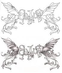 freebies back fairy wings tattoo design by tattoosavage on deviantart