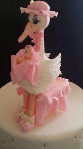 stork cake topper baby shower cake stork decorations baby shower stork stork