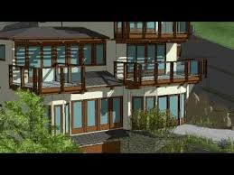 google sketchup 8 a new house animation youtube