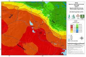 Map Iraq Iraq Climate Maps Present Icarda International Center For