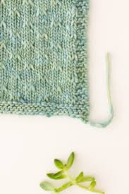 slip stitch knitting pattern how to trellis double slip stitch