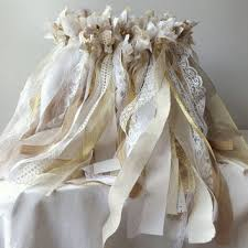 wedding wands 100 wedding wands 2 fabric streamers from alteredecodesigns on