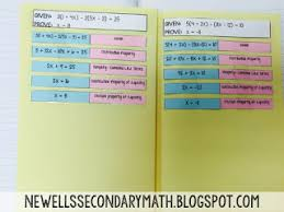 interactive notebook pages mrs newell u0027s math