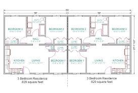 exciting duplex house plans 3 bedrooms ideas best idea home
