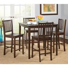 simple living shaker counter height 5 piece dining set free
