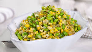 edamame roasted corn succotash today