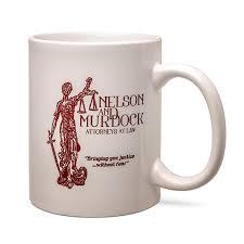 nelson and murdock attorneys at law mug thinkgeek