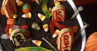 test kitchen recipe haunted graveyard pudding cake