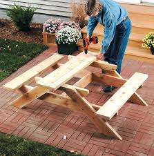 octagon picnic table diy child size childs 31577 interior decor