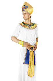amazon com men egyptian pharaoh halloween costume king of