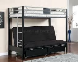 Loft Bed With Futon Underneath Bunk Beds Bunk Bed With Futon Underneath Furniture Traditional