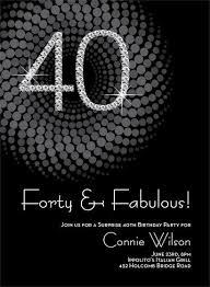 40th birthday invitations kawaiitheo com