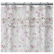 Vintage Floral Shower Curtains Simply Shabby Chic Cherry Blossom Shower Curtain Shabby Chic