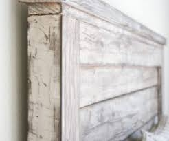 Distressed Wood Headboard Archive With Tag Distressed Wood Headboard Diy Markovitzlab