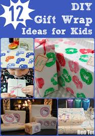 kids wrapping paper diy wrapping paper ideas ted s