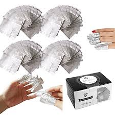 i b n 100pcs box gel nail polish remover wraps cleaner with cotton